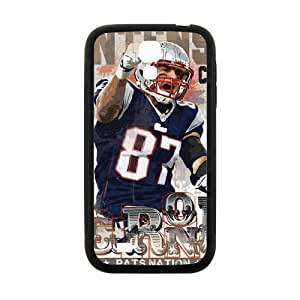 COOL Design Tom Brady Case for Samsung Galaxy S4( Laser Technology )Black Plastic Samsung S4 Case