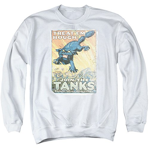 Army - Treat Em Rough Adult Crewneck Sweatshirt