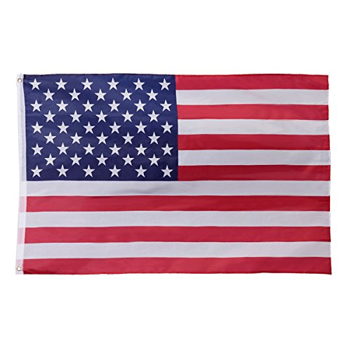 3' x 5' FT USA US U.S. American Flag Polyester Stars Brass Grommets - Sunglasses Wholesale China