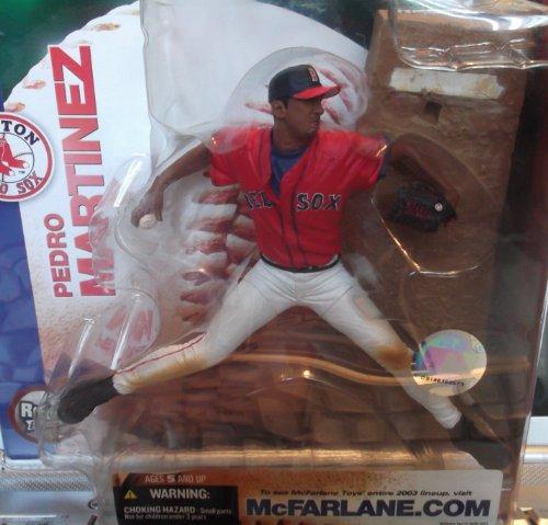 McFarlane Toys MLB Sports Picks Series 7 Action Figure Pedro Martinez (Boston Red Sox) Red Sox Jersey