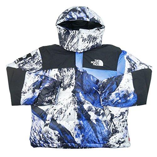 SUPREME シュプリーム ×THE NORTH FACE 17AW Mountain Baltoro Jacket バルトロジャケット 白青 M 並行輸入品 B077WPRRL3