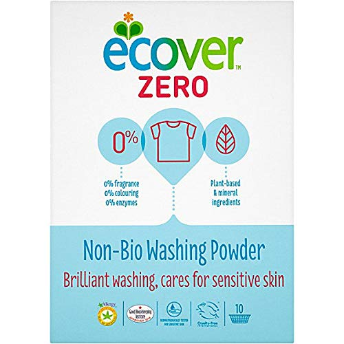 (2 Pack) - Ecover Zero - ZERO (Non Bio) Washing Powder | 750g | 2 PACK BUNDLE