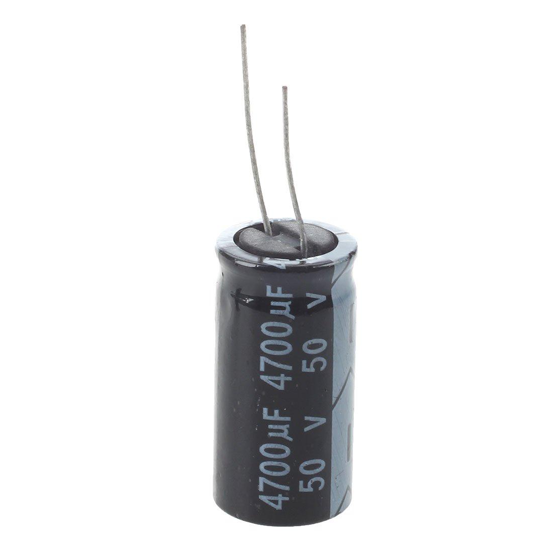 REFURBISHHOUSE 5 Stk 50V 4700uF Radial Leiter Aluminium elektrolytischen Kondensatoren