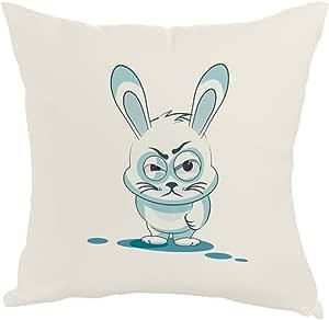 Printed Pillow, Fabric Canvas 40X40 cm, Rabbit