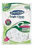 Dentek Triple Clean Floss Picks, 150 Count (Pack of 6)