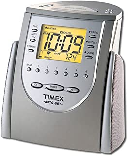 amazon com timex t313b auto set dual alarm clock radio black rh amazon com
