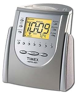 timex t311t auto set dual alarm clock radio titanium discontinued by manufacturer. Black Bedroom Furniture Sets. Home Design Ideas