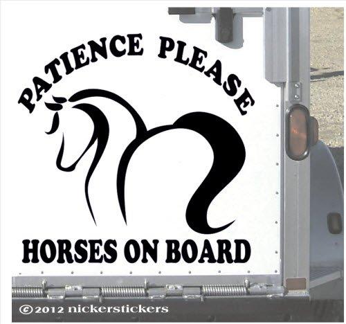 Patience Please Horses on Board | 13