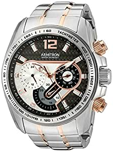 Armitron Casual Watch For Men Analog Stainless Steel - 20/5149GYTR