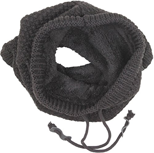 Bickely & Mitchell Snood Scarf Black Mens One Size