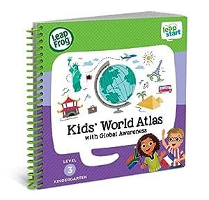 (World Atlas and Global Awareness) - LeapFrog LeapStart Kindergarten Activity Book: Kids' World Atlas and Global Awareness