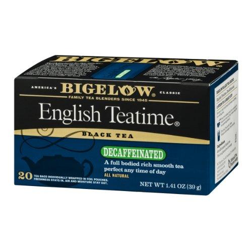 Bigelow Black Tea Decaffeinated English Teatime - 20 CT