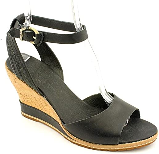 En otras palabras Misericordioso campeón  Timberland Maeslin Open Toe Wedge Sandals Shoes Womens: Amazon.co.uk: Shoes  & Bags