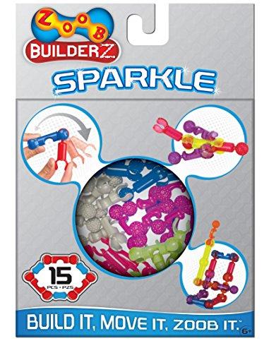 ZOOB Builderz Sparkle, 15 Piece