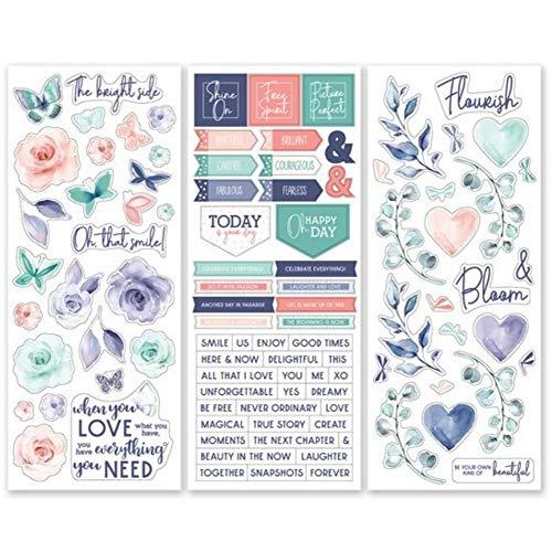 Flourish Stickers (3/pk) Wedding & Flower Designer Stickers by Creative Memories