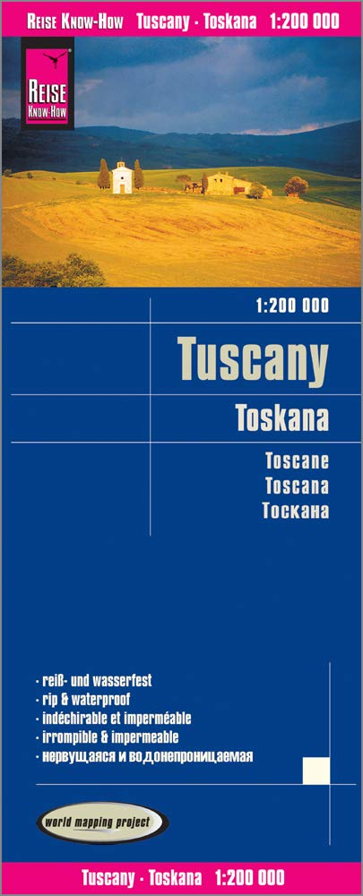 Toscana 1:200.000 impermeable: world mapping project