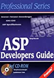 img - for ASP Developers Guide. book / textbook / text book