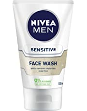 NIVEA MEN Sensitive Face Wash Gel, 100ml