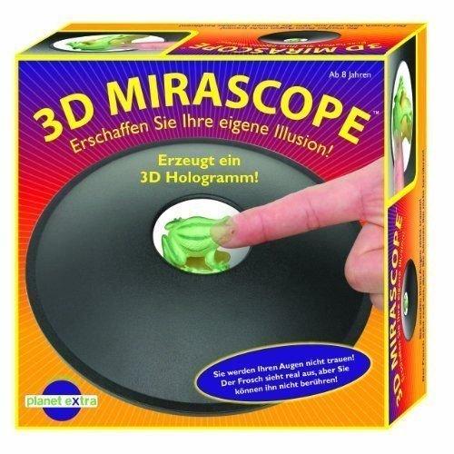 3D Optical Illusion Maker Mirascope Hologram Image Creator Magic Science - Retailers Optical