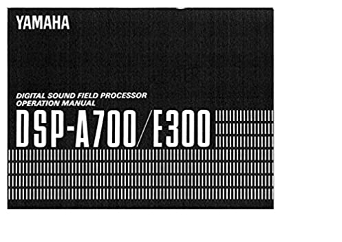 yamaha dsp e300 amplifier owners manual plastic comb jan 01 1900 rh amazon com