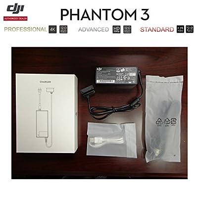 DJI Phantom 3 PRO/ADV/STA RC Drone 57W Battery Charger AC Power Supply, USA & CA