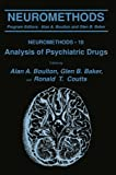 Analysis of Psychiatric Drugs (Neuromethods)
