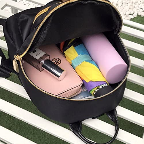 Freedi Fashion Girls Oxford Fabric Mini Backpacks Waterproof Double Zippers Shoulder Bag School Book Bags for Teenager
