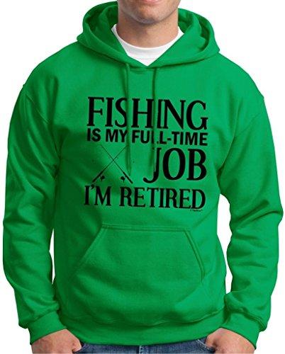 Fishing Retired Retirement Hoodie Sweatshirt