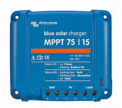 Victron BlueSolar 75/15 MPPT Charge Controller - 15 Amps / 75 Volts