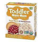 Toddler Mum-Mum Organic Sweet Potato & Pomegranate, 6-Count