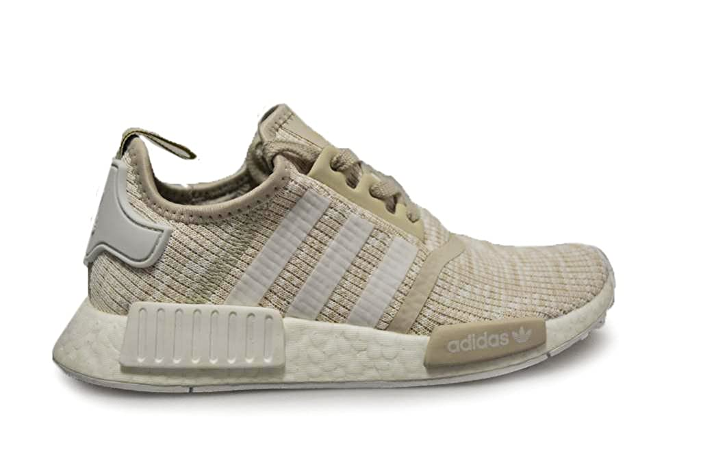 Linen Off White Cg2999 Adidas Originals Men's Primeknit NMD_R1 Running shoes (Black)