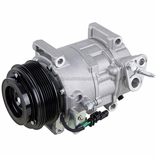 AC Compressor A/C Clutch For 2015 Chevy Silverado GMC Sierra Duramax Diesel - BuyAutoParts 60-04040NA New