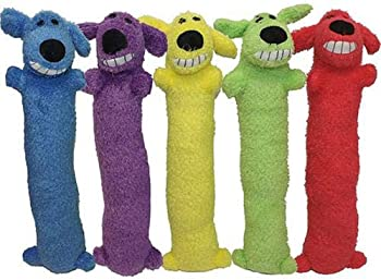 Multipet Loofa Dog Plush Dog Toy