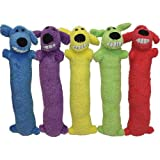 Loofa Dog 12' Plush Dog Toy, Colors May Vary