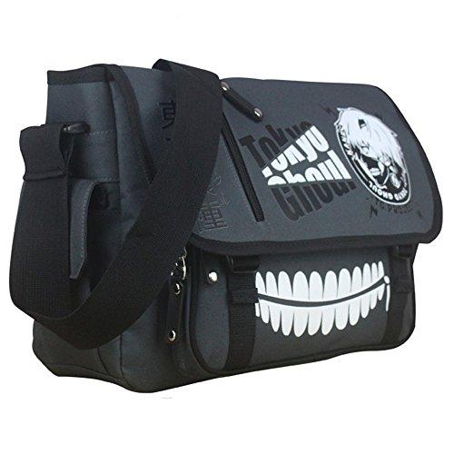 Siawasey Anime Tokyo Ghoul Cosplay Backpack Messenger Bag Handbag Crossbody Shoulder Bag