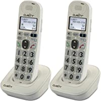 Clarity D704HS Moderate Hearing Loss Cordless Handset (2-Pack)
