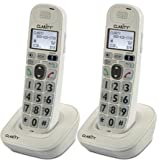 Clarity D704HS Moderate Hearing Loss Cordless Handset-Bundle (2 Pack)