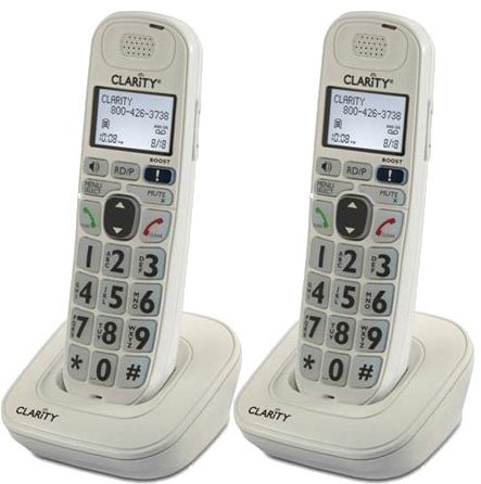 Clarity D704HS Moderate Cordless 2 Pack product image