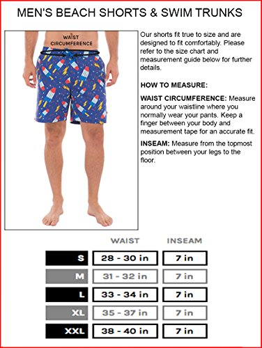 Tipsy Elves Shark Weekender Swim Trunks: X-Large by Tipsy Elves (Image #4)