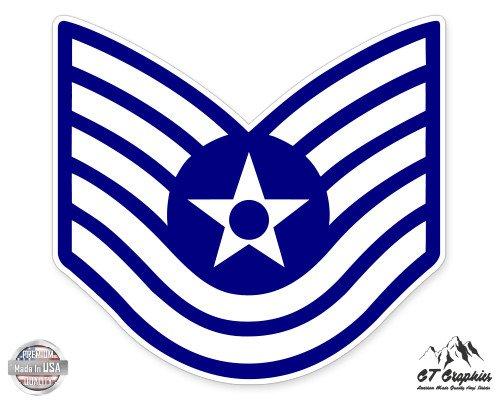 US Air Force E6 Technical Sergeant Rank - 3