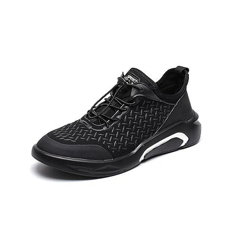 LFEU - Zapatillas de Atletismo de Lona Hombre: Amazon.es: Zapatos y complementos