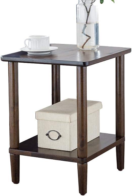 Sofá mesa de centro hogar sala de estar mesa de la esquina madera ...