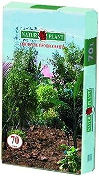 CORTEZA DE PINO DECORATIVA 70 L.: Amazon.es: Jardín