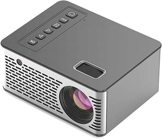 Mississ - Mini proyector LED portátil, Entretenimiento para Cine ...