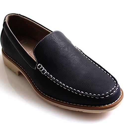 Nieuwe Mooda Basic Eenvoudige Loafers Mode Slip Op Sneakers Heren Casual Kleding Schoenen Marine