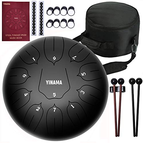 Yinama Steel Tongue Drum Percuss...