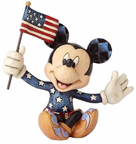 Jim Shore Disney Traditions by Enesco Mini Patriotic Mickey