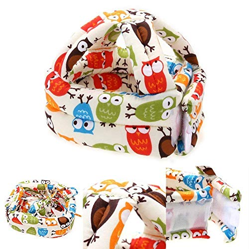 Baby Safety Helmet Infant Toddler Children Headguard Adjustable Headguard Protective Harnesses Cap Safety Head Cushion Bumper Bonnet from Lightton