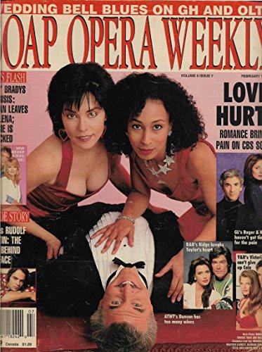 Margaret Reed, Tamara Tunie & Michael Swan (As the World Turns) l Peter Bergman l Rudolf Martin - February 15, 1994 Soap Opera Weekly Magazine