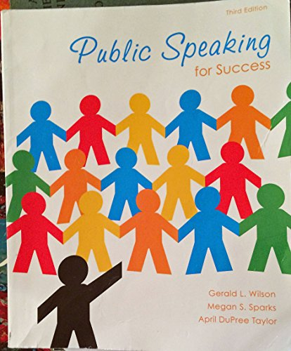 Public Speaking for Success Third Edition